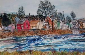 """G Street, Turners Falls, Massachusetts, 22""""X15"""""""