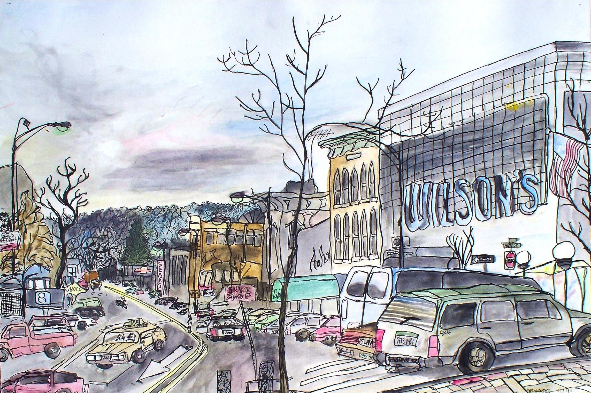 7 - Main Street Greenfield (11-1991)